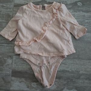 Light pink onesie